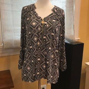 Anne Klein, size L blouse